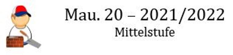 Mau.20 - Frau Zimmer 2021/2022